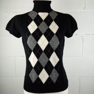 Sarah Spencer Sweater Women Petite Size M Black